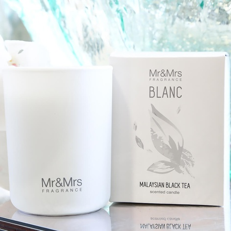 Арома свеча Candle Blanc Malaysian Black Tea