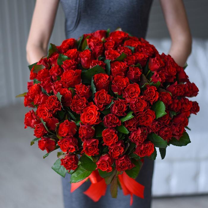 Цветы доставка киев букет роза, стильные букеты из роз фото